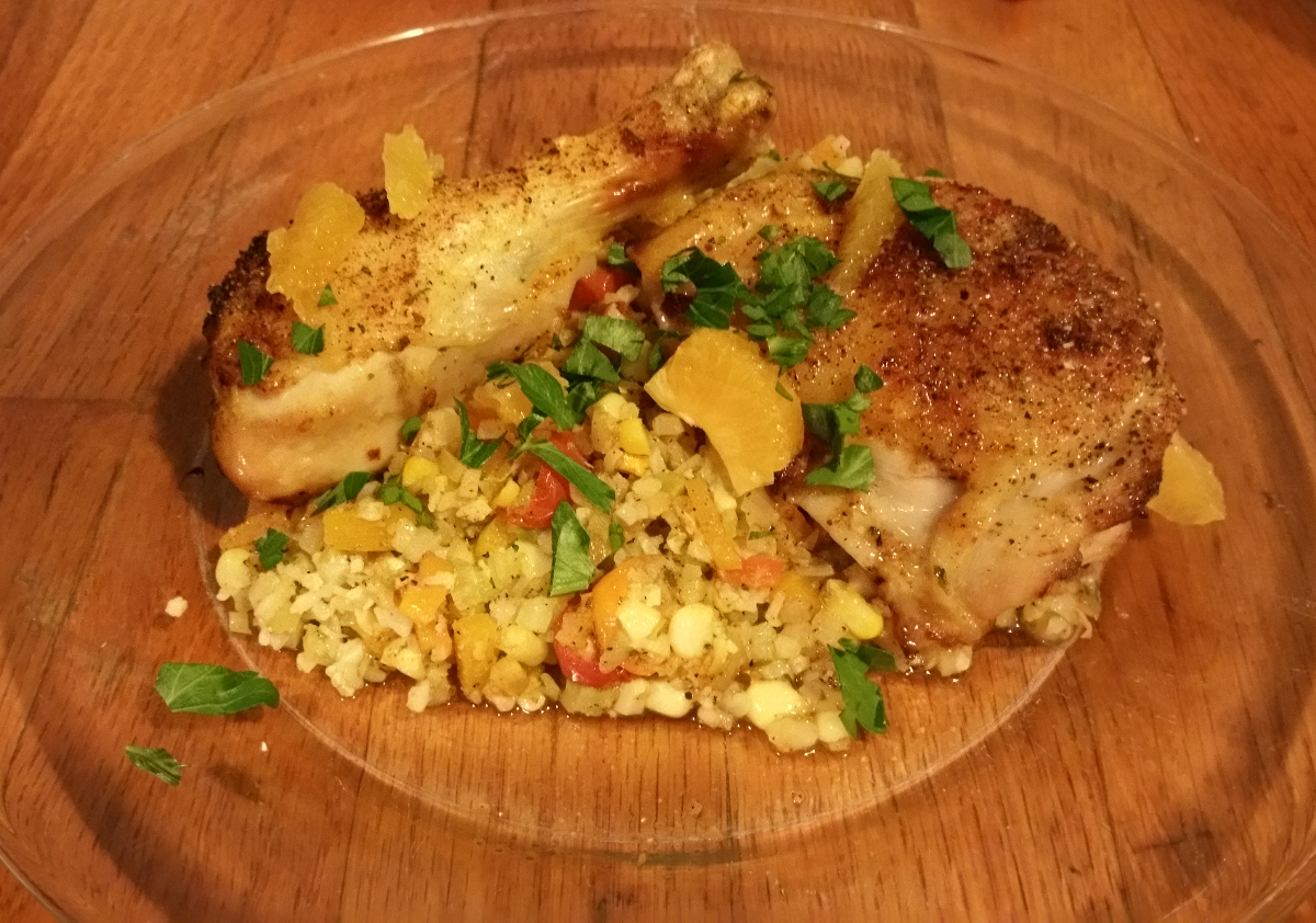 Oven Roasted Chicken